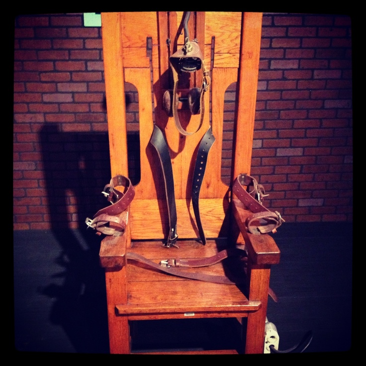 Old Sparky Texas Electric chair