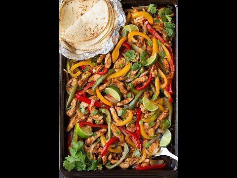 Sheet Pan Chicken Fajitas - Cooking Classy
