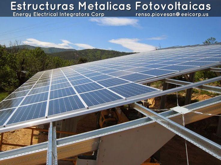 Estructuras Metalicas Fotovoltaicas Venezuela. Bases Metalicas para Paneles…