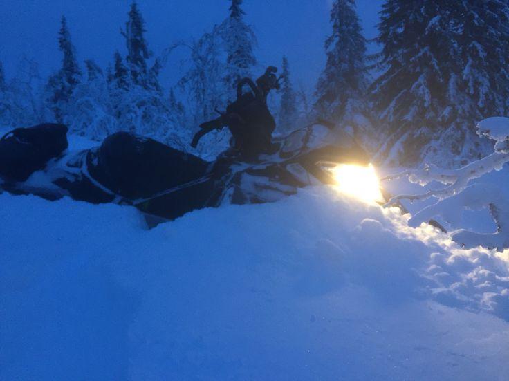 LOT of snow in Sälen