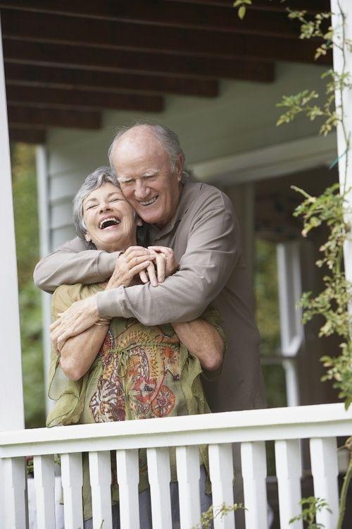 Grandma & Grandpa Laughing