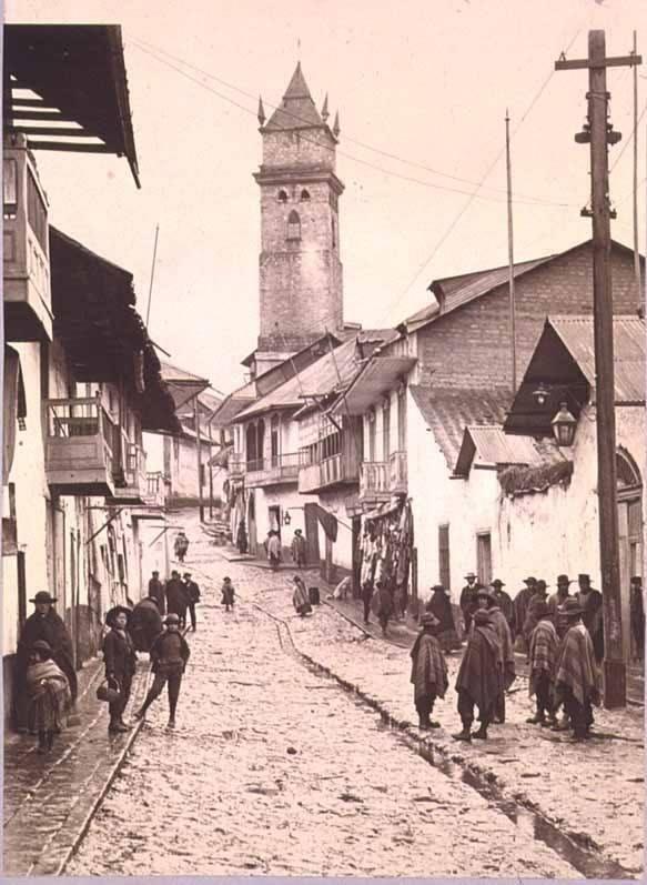 Bogota  Antigua _Esta es @Bogota_DC en la década de 1940
