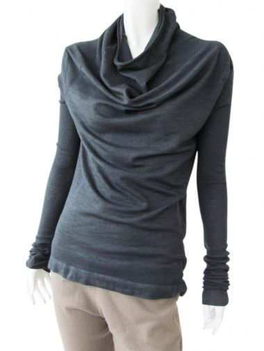 Designer: Delphine Wilson    Item: Girocollo    Composition: 94% Viscose 6% Nylon    Made in Italy    > Need Help?    Price $144.00
