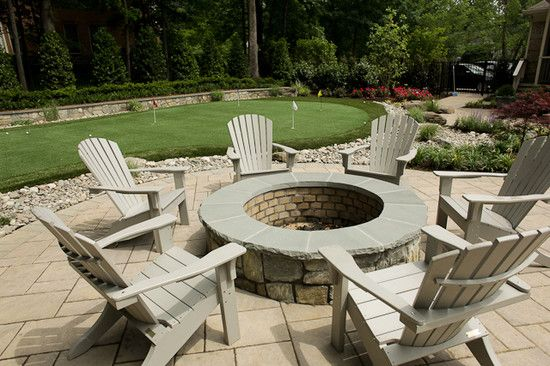 For summer bbqs and winter fire pits