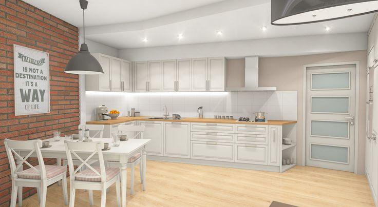 Kuchyň v rustikálním stylu