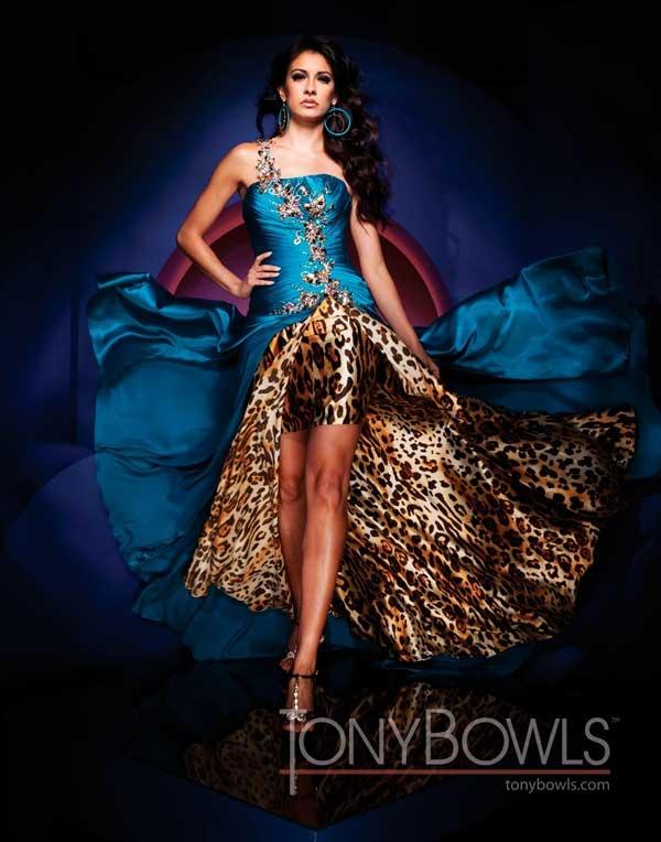 Cheetah Prom Dresses