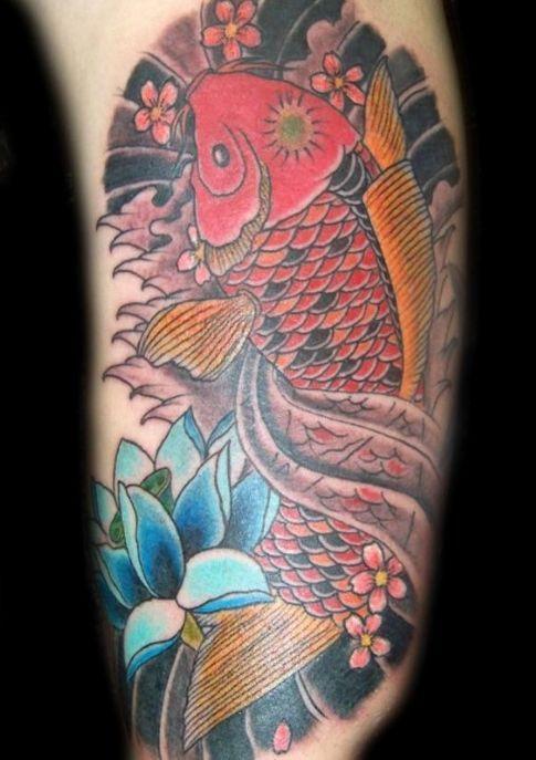 1000 images about fish tattoos on pinterest octopus mermaid koi fish tattoo and jesus fish. Black Bedroom Furniture Sets. Home Design Ideas