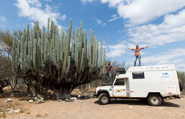 Latitude 70  Overlander journey through the world in a massive 4x4. A great roadtrip to discover both yourself and incredible cactus and desert landscapes.