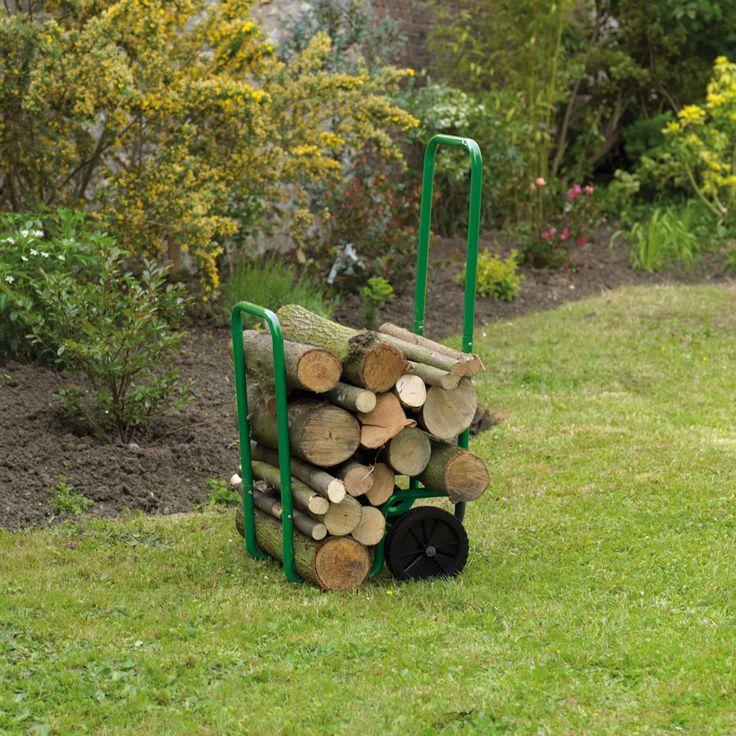 Carrello porta legna - Attrezzi giardinaggio - Dmail