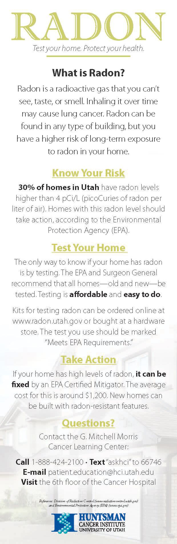 16 best environmental health images on pinterest environmental learn about radon a radioactive gas that can cause lung cancer and how you buycottarizona