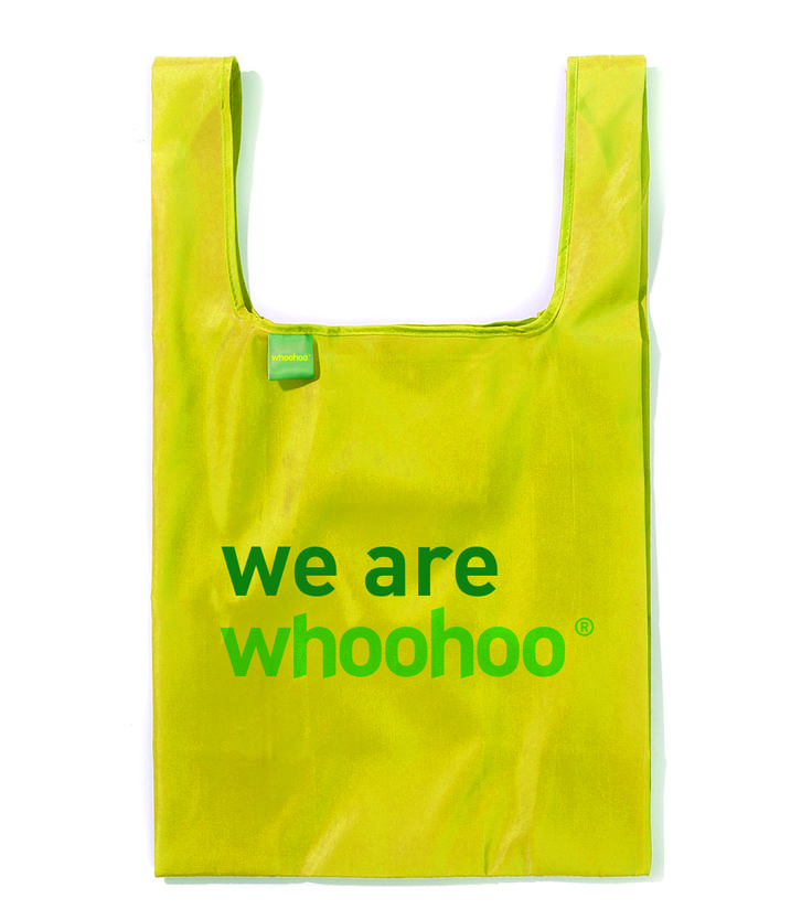 We are Whoohoo®. #ecobag