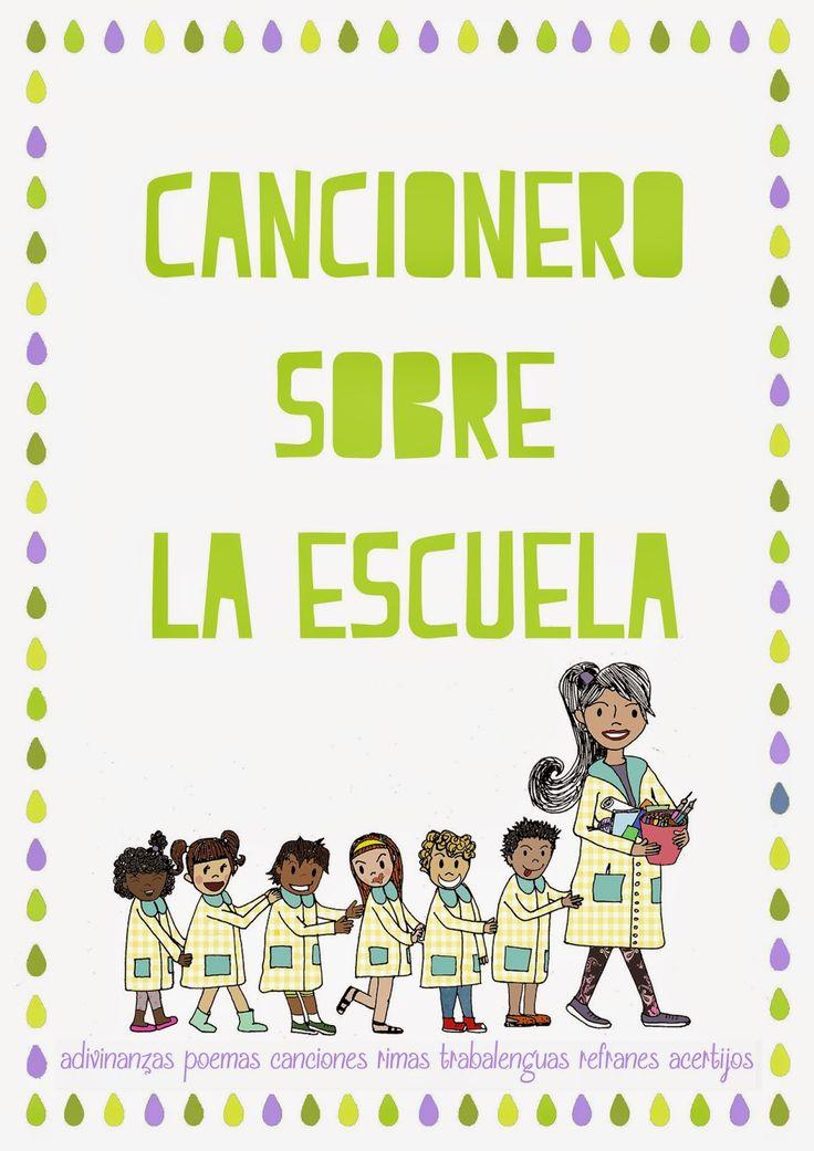 LLUVIA DE IDEAS: Descargables: Pack Cancionero sobre la escuela para Educación Infantil y Primaria