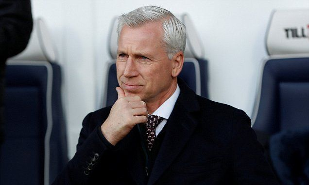 Alan Pardew insists heated row with Chris Brunt is a positive sign
