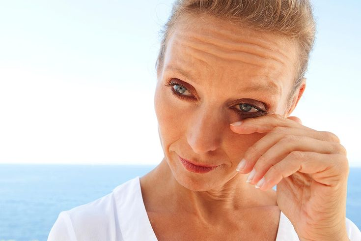 Dry eye is a common cause of contact lens discomfort.