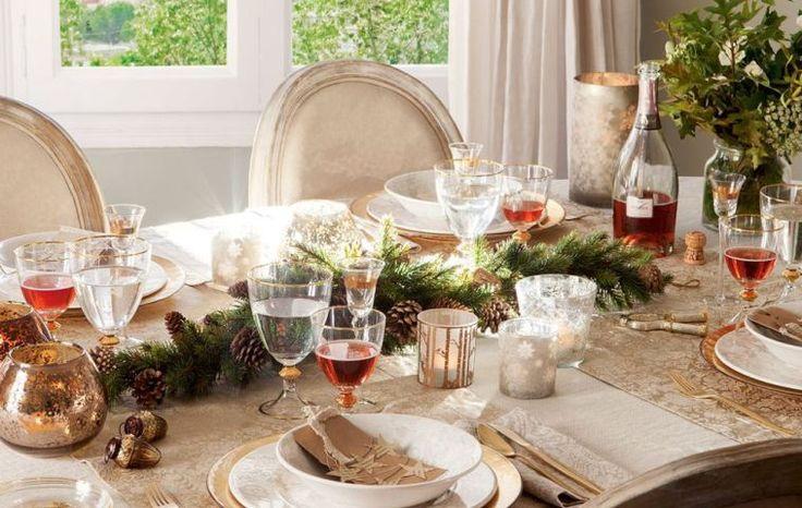 Idei pentru aranjarea mesei de Crăciun | Adela Pârvu - jurnalist home & garden