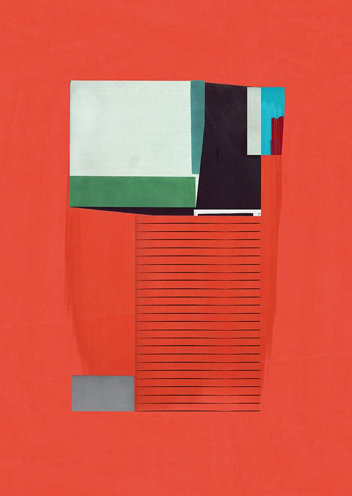 Jesus Perea / Abstract composition 486