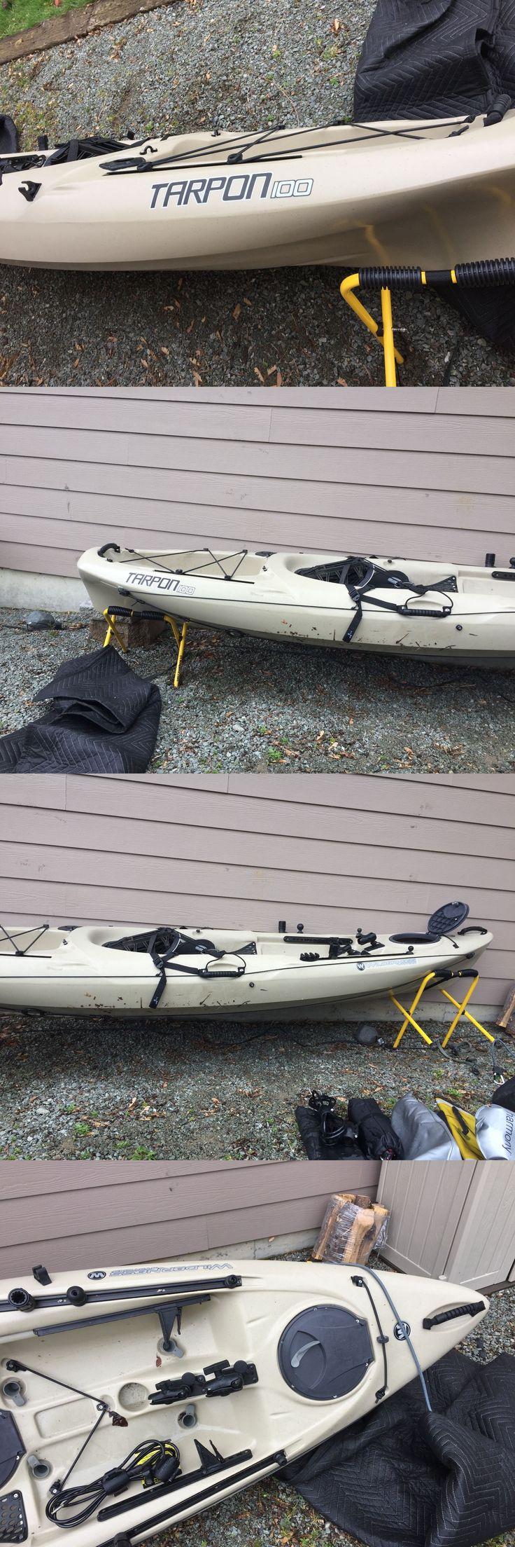 Kayaks 36122: Wilderness Systems Tarpon 100 Kayak - Sand Unused -> BUY IT NOW ONLY: $600 on eBay!