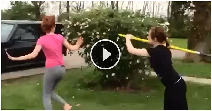 This Is What Happens When A Girl Hits Another Girl With A Shovel