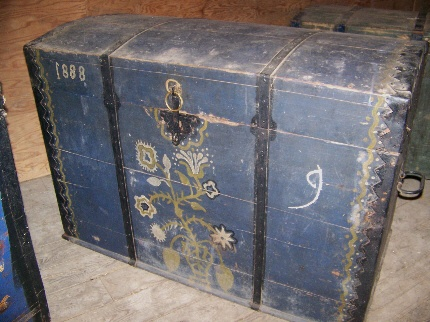 Dowery Chest: Dated 1888