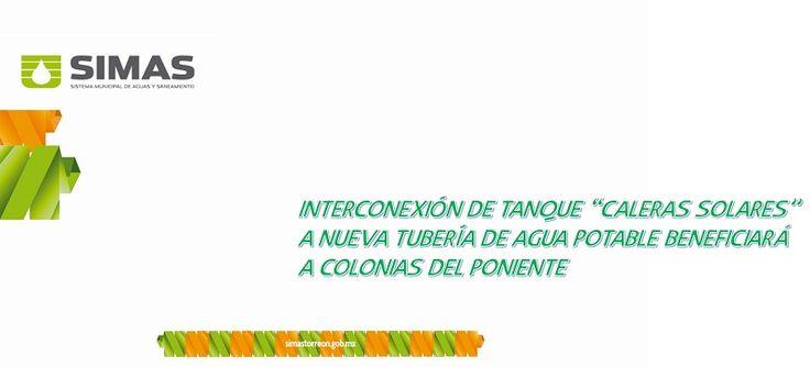 El Lic. Xavier Alain Herrera Arroyo, Gerente General del Sistema Municipal de Aguas y Saneamiento de Torreón (SIMAS Torreón), informa que...