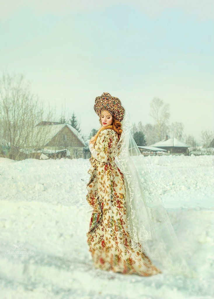 Свадьба в Русском стиле   16 фотографий