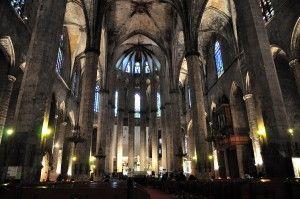 Basilica de Santa Maria del Mar Barcelona http://www.apartmentbarcelona.com/blog/2016/05/02/churches-in-barcelona/