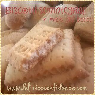 Biscotti per la colazione: inzupposi semi integrali al miele http://www.delizieeconfidenze.com/2017/02/biscotti-per-la-colazione-inzupposi.html
