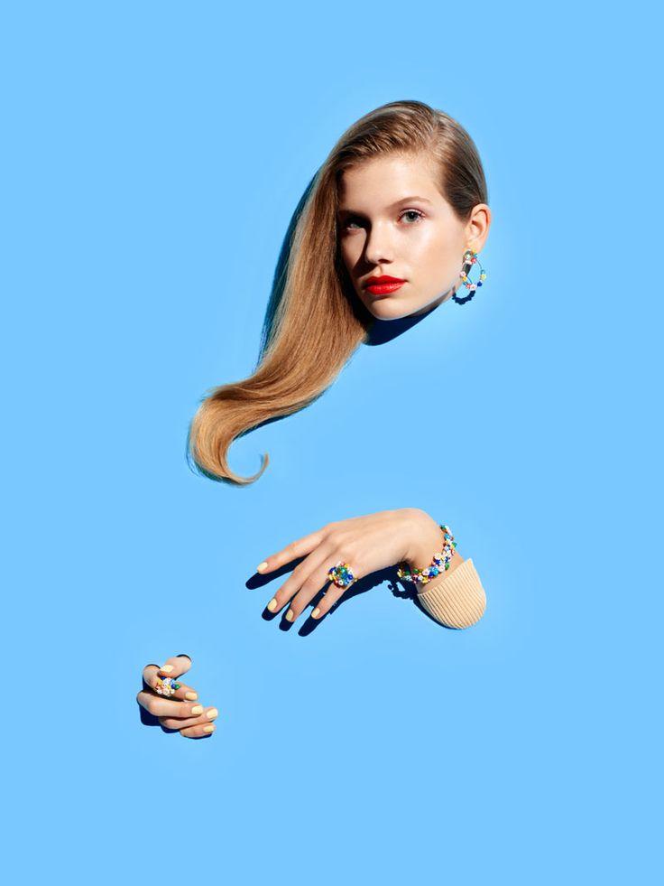 Bijoux fantaisies, bracelet, bague, boucles d'oreilles, fleurs, romantique, original, accessoires, femme, Les Néréides