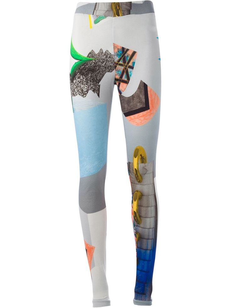 Women - Andrea Crews Printed Leggings - WOK STORE