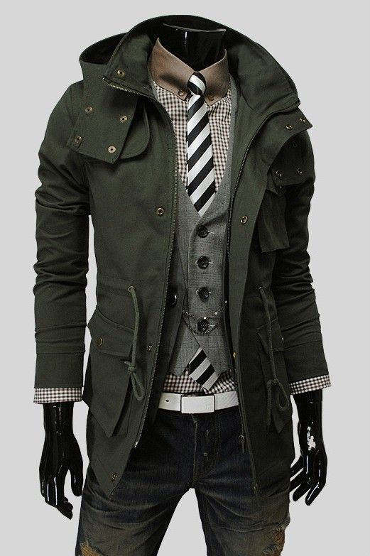 Male fashion- would love to be able to wear something like this.  I know my wife would really like it.