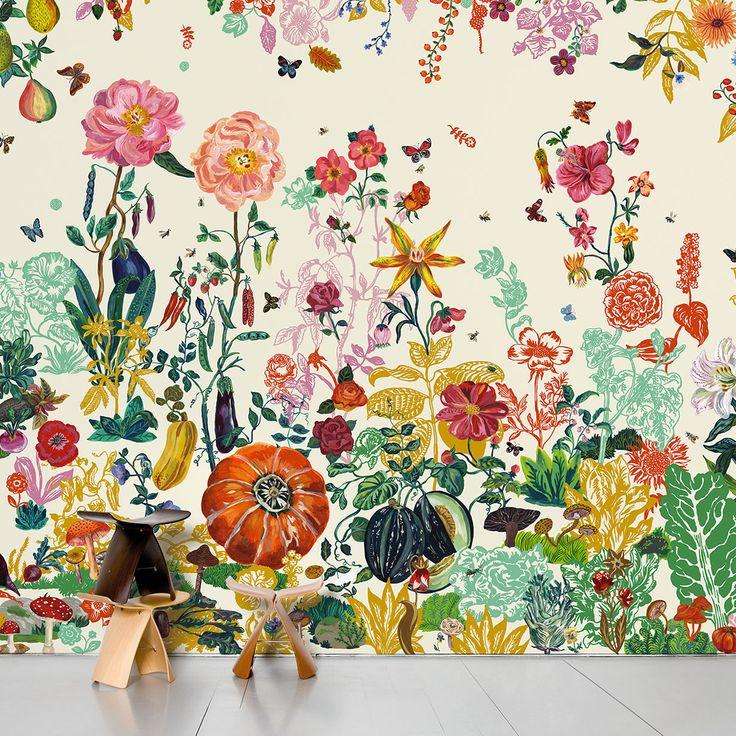 17 migliori idee su decorazione di carta da parati su for Fenetre qui s ouvre vers l exterieur