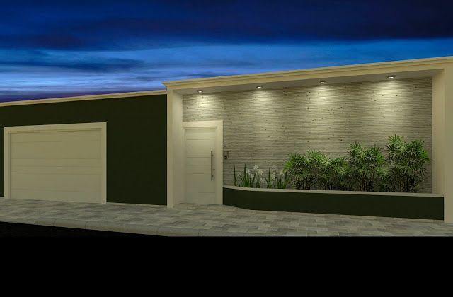 Fachadas! Muros, grades e portões para embelezar e proteger sua casa!!!