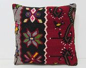 victorian home decor 18x18 designer throw pillow designer cushion knit pillow cover sofa pillow case kilim cushion rug vintage cushion 29002