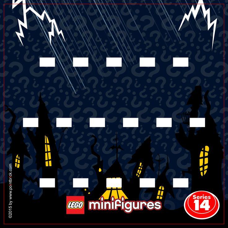 IKEA Ribba Hack - LEGO Minifigures Display Frame - 71010 Serie 14 Halloween Monsters - Clicca sull'immagine per scaricarla gratuitamente!