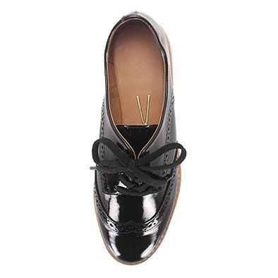 Sapato Oxford Feminino Vizzano - Preto