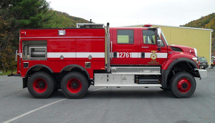 Wildland Fire Trucks | Camp Pendleton, CA