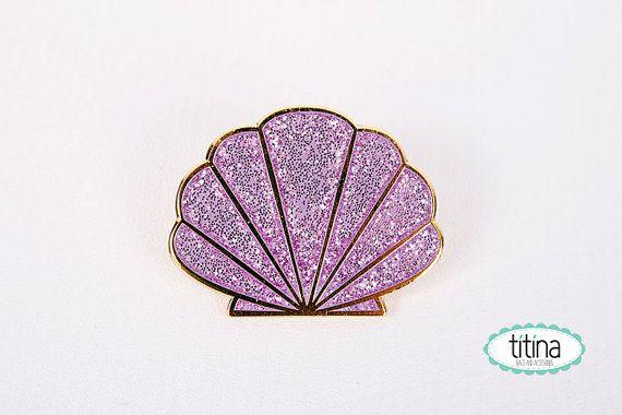 little mermaid enamel pin by TitinaStore on Etsy