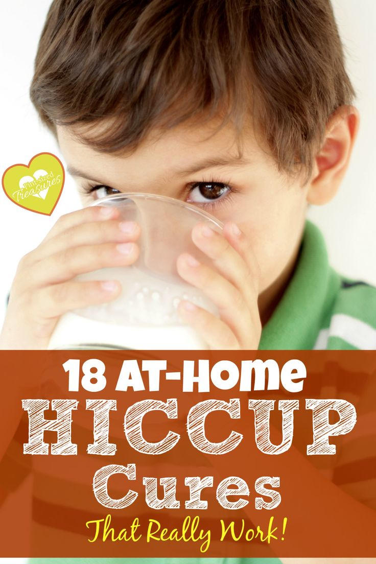 """Do you remember the last time your child or you had a stubborn case of hiccups? Don't you wish you had known more than one """"go-to"""" cure? Now, you have 18! From moms and professionals!"""