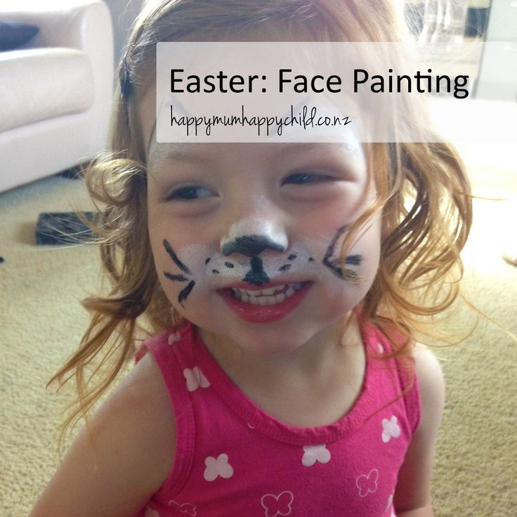 Happy Mum Happy Child's Easter Face Painting Activity