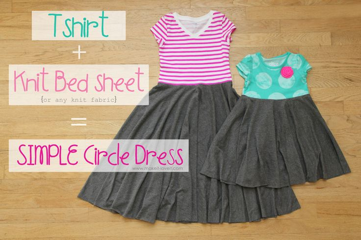 Easy Peasy Dress! :D Especially with the handkerchief hem, this would be brilliant for fairy dresses....