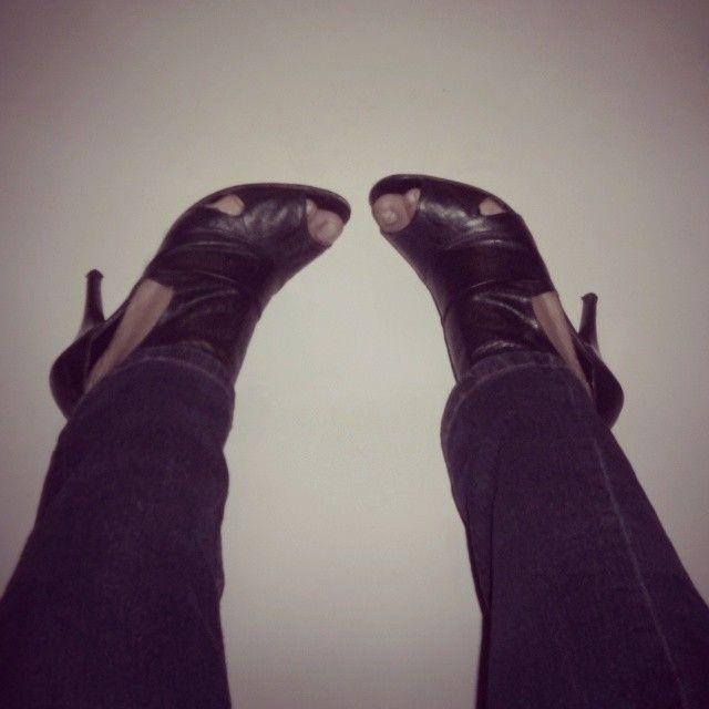 Zapatos tipo botín de Capa de Ozono Shoes booty type by Capa de Ozono