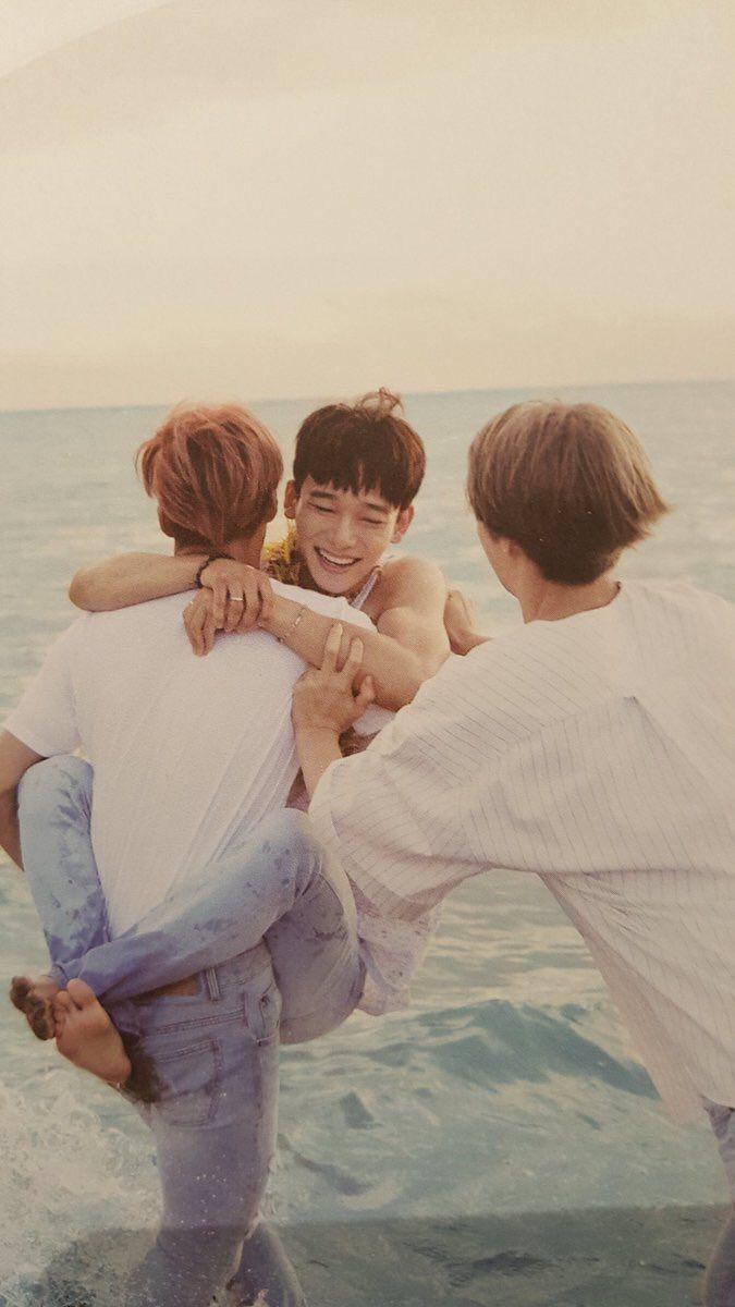 Kai, Chen, & Sehun