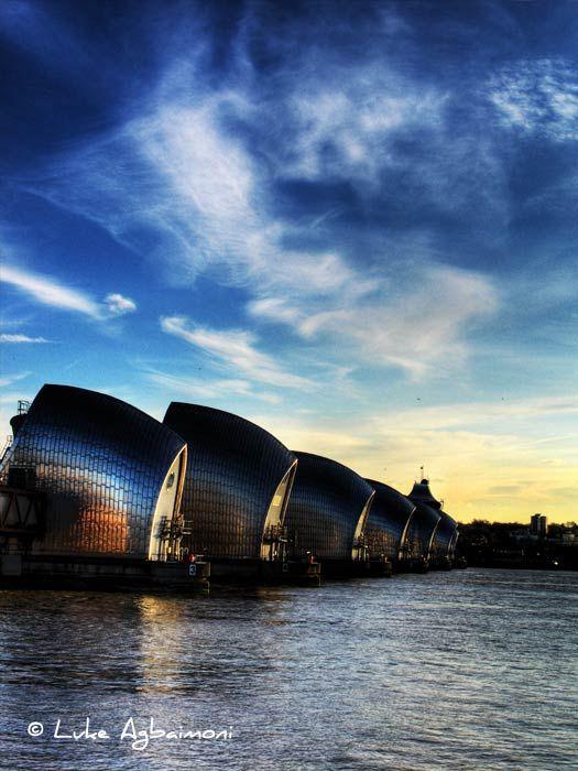 Thames Barrier - Docklands, London Photography