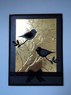 .: Branch Card, Bird Cards, Cardmaking, Cards Birds, Card Making, Card Corner, Bird Builder