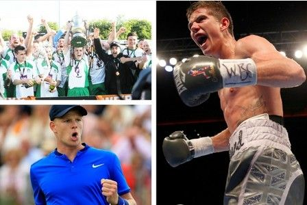 Hull local sporting review of 2016  North Ferriby Luke Campbell and Kyle Edmund