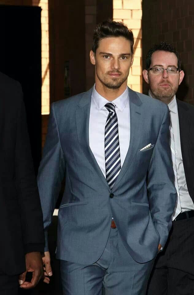 Jay Ryan is cute, eyes are a bit catsy but ehh who cares.