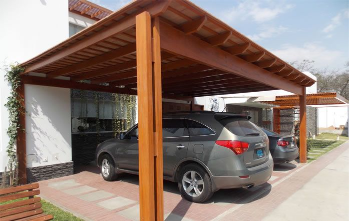 Techos de madera buscar con google techos pinterest for Carros de madera para jardin
