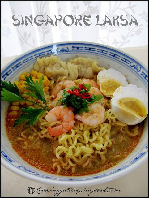 Cooking Gallery: Singapore Laksa recipe.