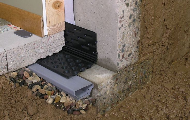 Interior Wet Basement Waterproofing Solutions | Supplies & Materials