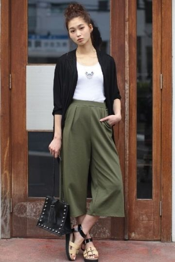 ガウチョパンツ / olive gaucho pants on ShopStyle